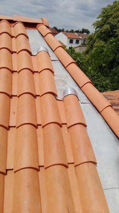 Réfection totale couverture à Toulouse par Dallau artisan couvreur 31