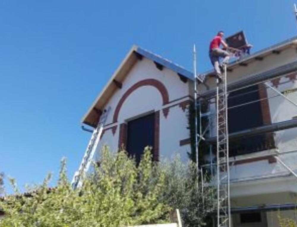 Réfection d'une toiture à neuf à Toulouse